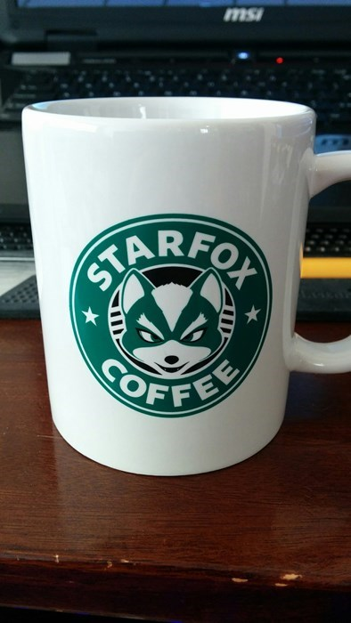 Starbucks starfox coffee mug - 8456935936