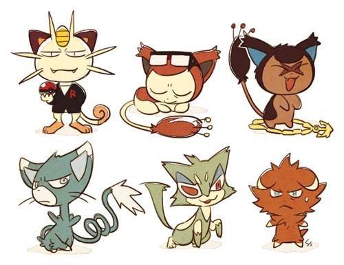 Pokémon Fan Art Cats - 8456965120