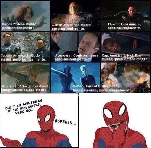 Pobre Spiderman