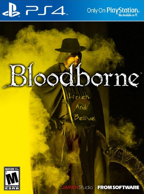 gaming PlayStation 4 gamers bloodborne - 8457482240