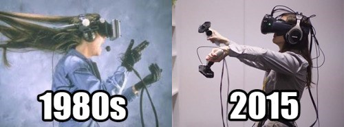 virtual reality,gaming,over the years