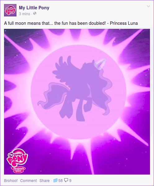 naughty moon princess luna - 8457537536