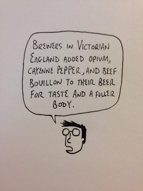 I want beefy beer