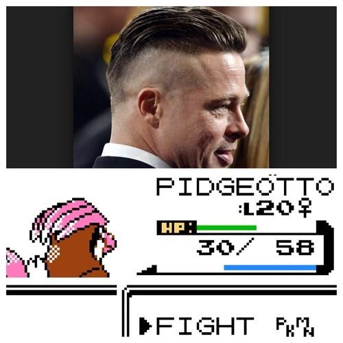 brad pitt,Pokémon,pidgeotto