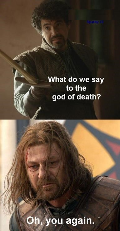 sean bean Game of Thrones ned stark Death - 8457702144