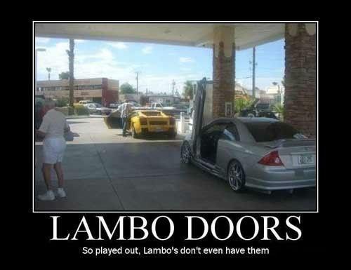 doors cars lamborghini funny - 8457733888