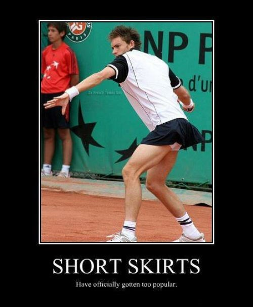 tennis skirt funny short - 8457734656