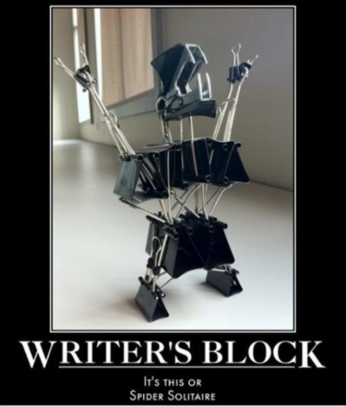 writers block office supplies wtf funny - 8457734912