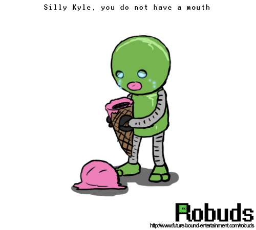 ice cream robots web comics