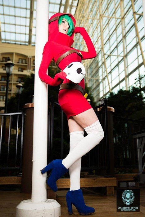 video game cosplay sexy shy guy
