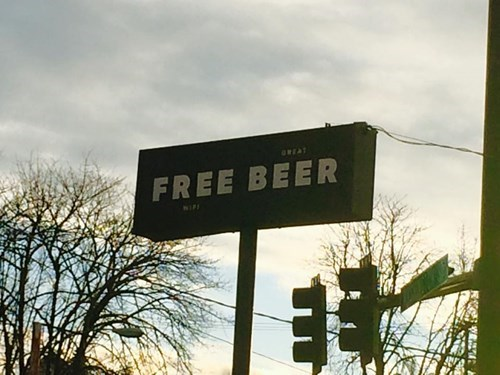 free beer and great wifi