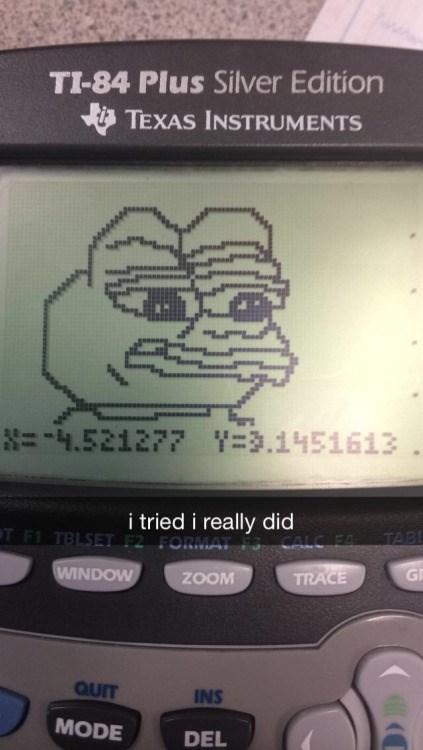 Math Class Makes Me Like...