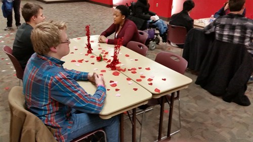 speed dating with an odd number of people