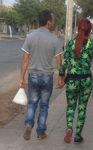 that's a hell of a weed jumpsuit