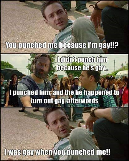 funny-walking-dead-rick-grimes-gay-punch-aaron
