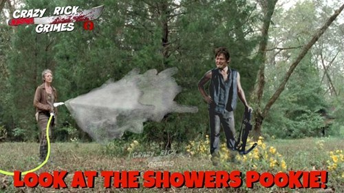 funny-walking-dead-daryl-dixon-shower