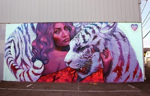 epic-win-pics-street-art-tiger