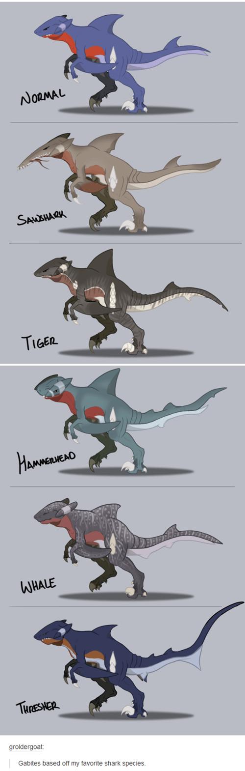 Pokémon sharks gabite - 8458841856