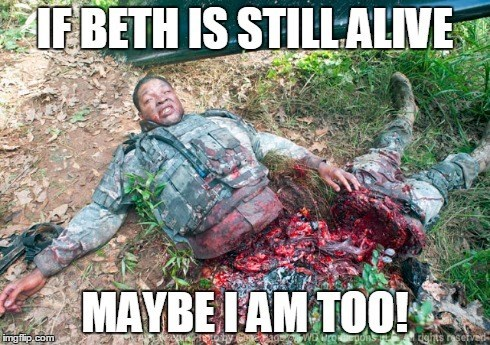 funny-walking-dead-beth-green-alive-not-so-much