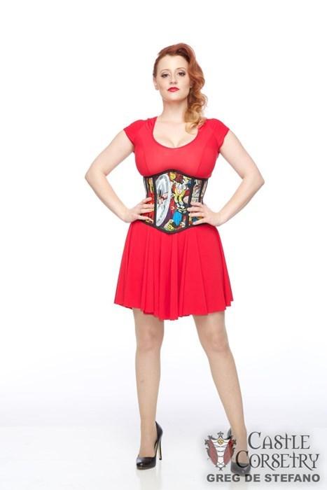 geeky merch thor corset