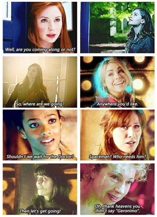 funny-doctor-who-companion-tardis-takeover