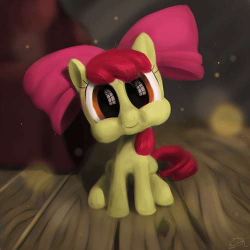 apple bloom cute demon nightmare fuel - 8459541504