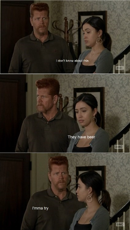 funny-walking-dead-abraham-brave-for-beer