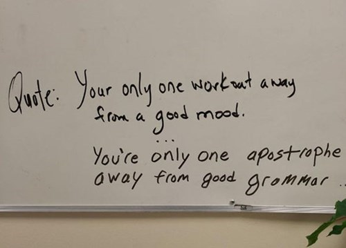 gym wisdom spelling quote - 8459883008