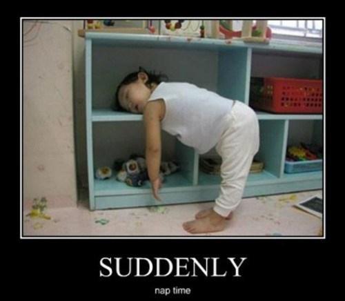 suddenly nap kids funny