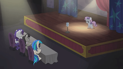 Sweetie Belle talent audition - 8460314112