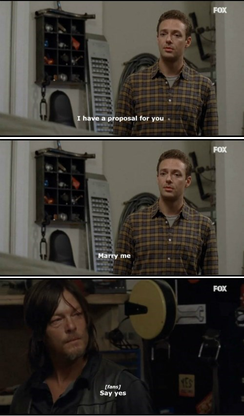 Daryl's Gonna Make Some Man or Woman Very Happy Some Day, And We Don't Care Which