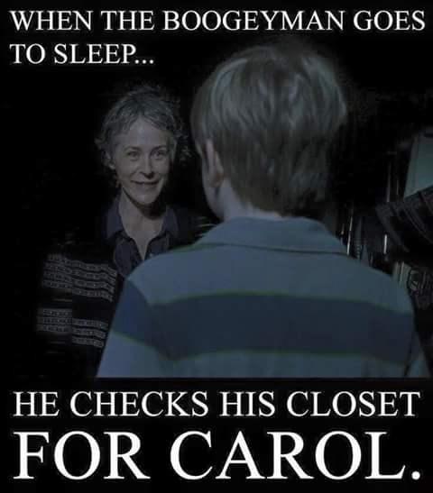 Carol Walking Dead Meme