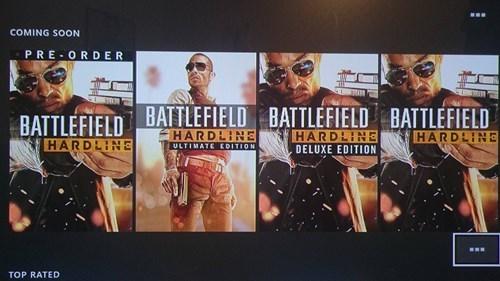 battlefield hardline preorder gaming - 8460956416