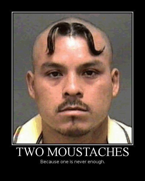 mustache awesome idiots funny - 8461152256