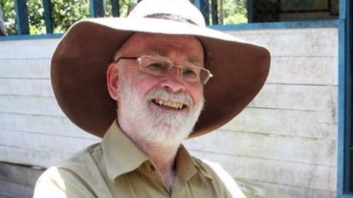 British fantasy author Terry Pratchett dies at 66.