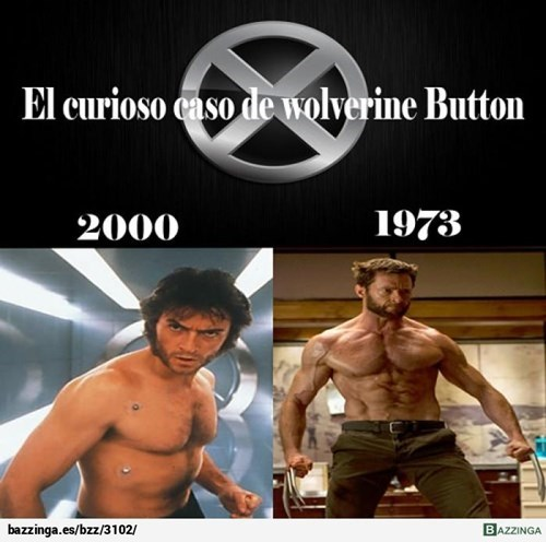 Wolverine Button