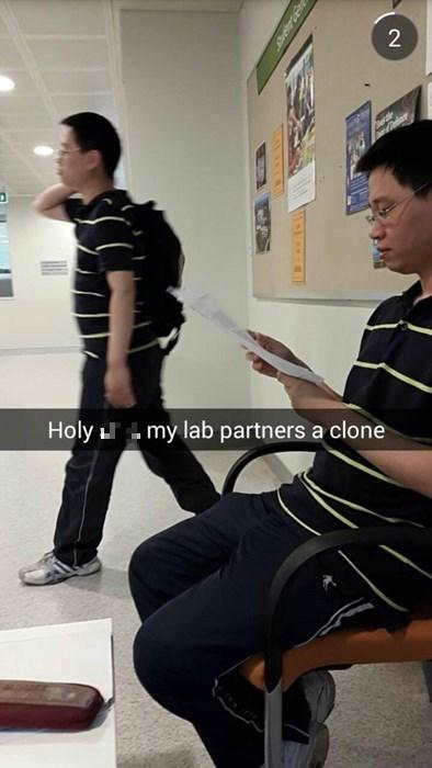why do clones always dress alike?
