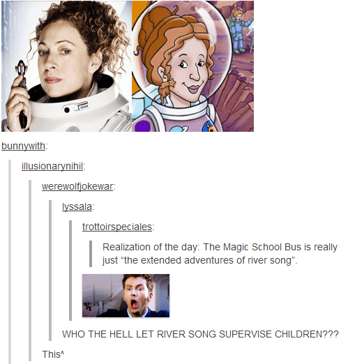 funny-doctor-who-river-song-magic-school-bus