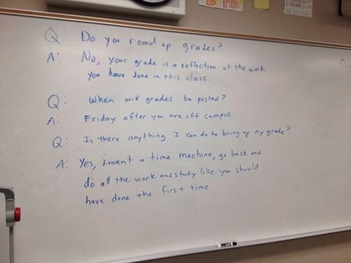 this teacher is a taskmaster