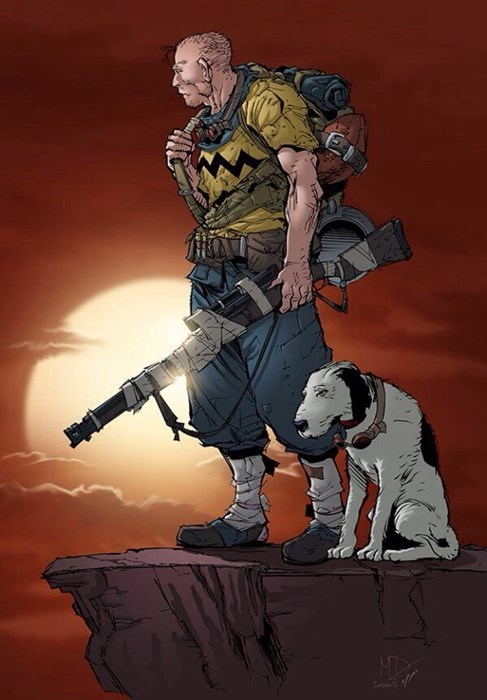 fallout charlie brown - 8461517056