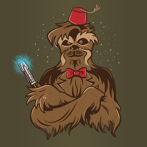 funny-doctor-who-chewbacca-tshirt-fez-sonic-screwdriver