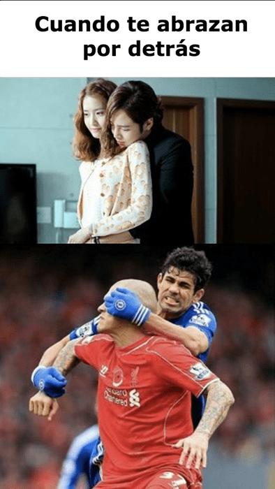 El amor y el futbol