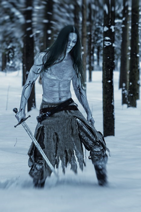 geeky cosplay game of thrones white walker