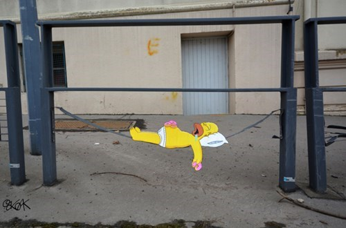street-art-epic-win-pics-homer-simpsons