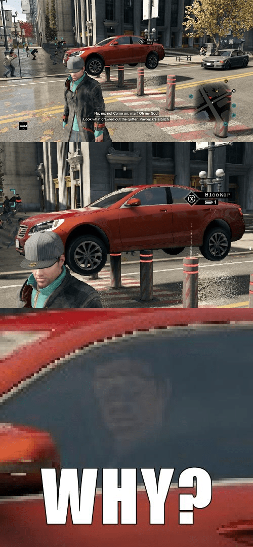 Aiden Pearce is Terrible