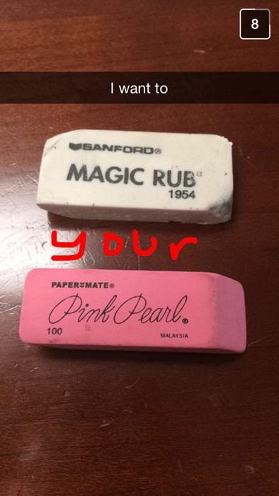 the ladies love your magic rub skills