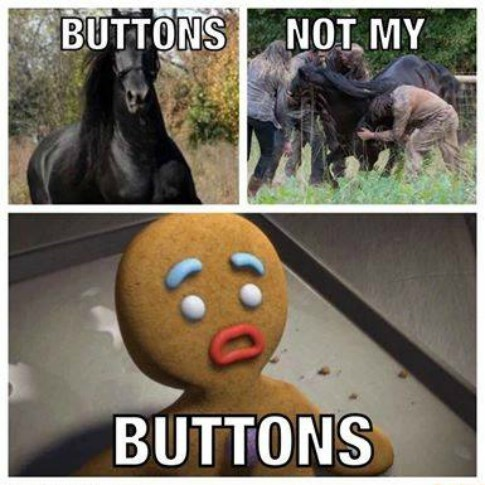 funny-walking-dead-buttons-horse-dead-sad-shrek
