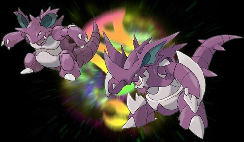 nidoking,mega evolutions
