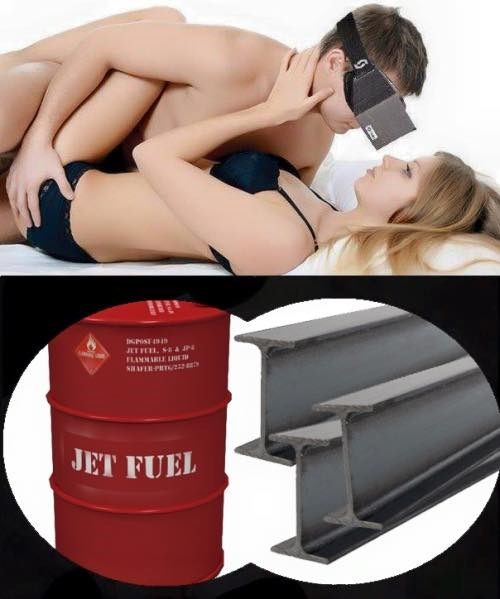 911 jet fuel