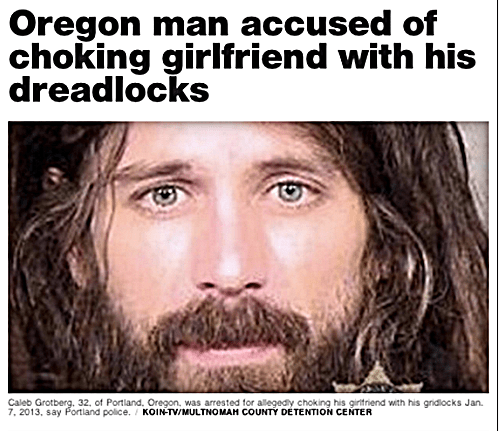 oregon man with dreads, is considered armed and dangerous